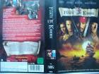 Fluch der Karibik ... Johnny Depp, Geoffrey Rush ...  VHS !!