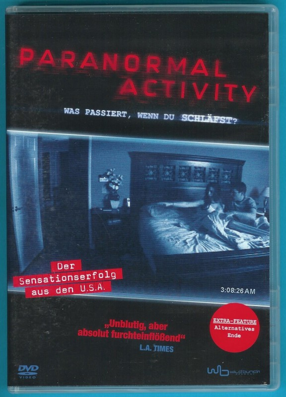 Paranormal Activity DVD Katie Featherston NEUWERTIG