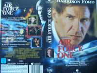 Air Force One ...  Harrison Ford, Gary Oldman  ... VHS !!!