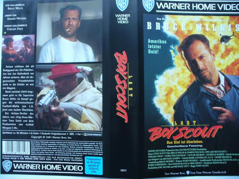 Last Boy Scout ...  Bruce Willis, Damon Wayans ...  VHS !!!