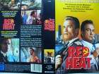 Red Heat ... Arnold Schwarzenegger, James Belushi ..  VHS !!