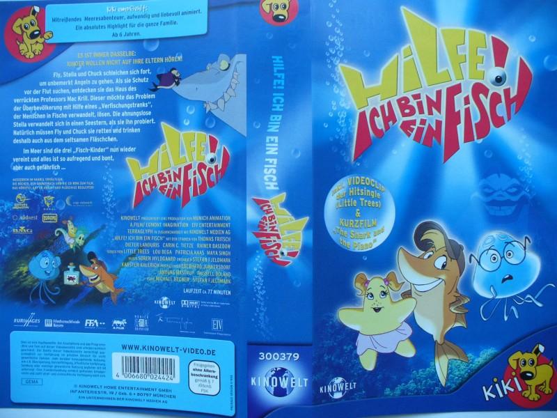 Hilfe ! Ich bin ein Fisch  ...  VHS !!!