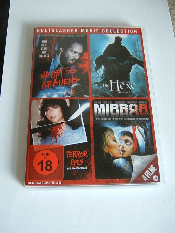 Kultslasher Movie Collection (4 Filme, siehe Cover, selten)