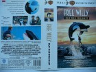 Free Willy - Ruf der Freiheit ...  Jason James Richter   VHS