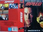 Speed    ...  Sandra Bullock, Dennis Hopper ...  VHS !!!