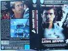 Lethal Weapon 1 ... Mel Gibson, Danny Glover ...  VHS !!!