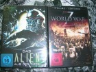 ALIEN AUS DER TIEFE + WORLD WAR ZOMBIE VOL.1 DVD NEU OVP