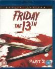 Friday the 13th Part 2 (Blu-ray mit deutscher Tonspur) OVP!