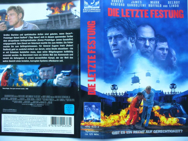 Die letzte Festung ... Robert Redford ...  VHS !!!