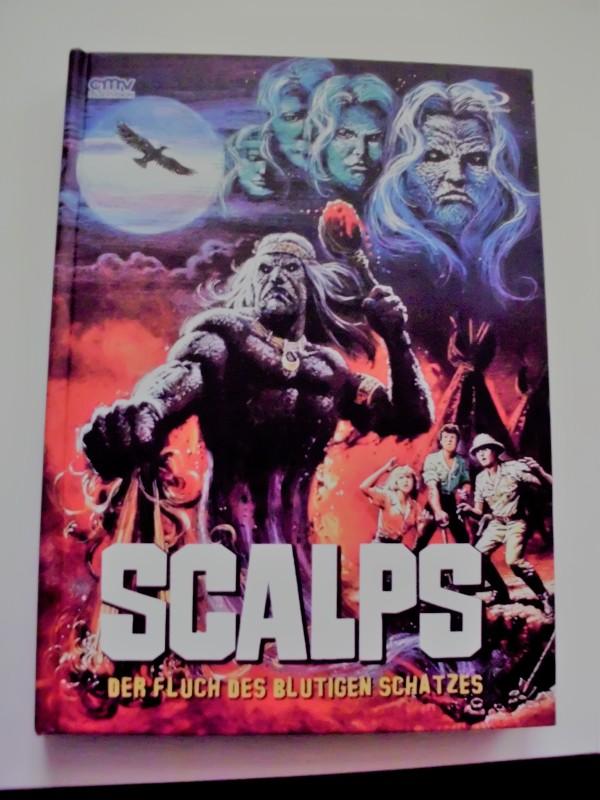 Mediabook  Scalps - Der Fluch des blutigen Schatzes