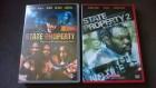State Property 1 & State Property  2 DVDs Jay Z Damon Dash