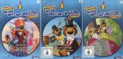 Um die Welt mit Willy Fog Vol. 1-3 (3DVDs / Kinderfilme)