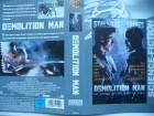 Demolition Man ... Sylvester Stallone, Wesley Snipes ...VHS