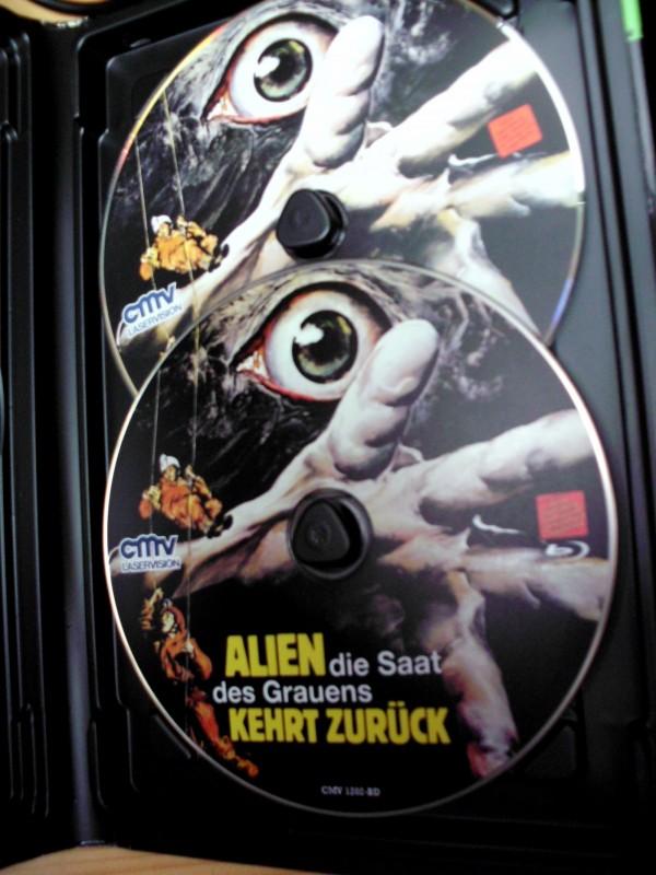 Alien die Saat des Grauens kehrt zurück - Grosse Hartbox (Bl