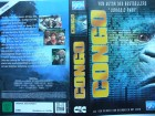Congo ... Dylan Walsh, Laura Linney, Tim Curry ...  VHS !