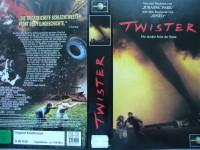 Twister ... Helen Hunt, Bill Paxton  ... VHS !!!