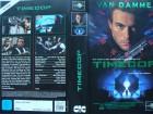 Timecop ... Jean Claude van Damme, Ron Silver ...  VHS