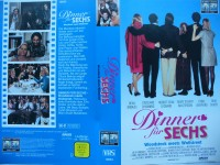 Dinner für Sechs ... Beau Bridges, Stockard Channing ... VHS
