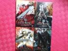 Hellsing 1-4 DVDs Manga Anime