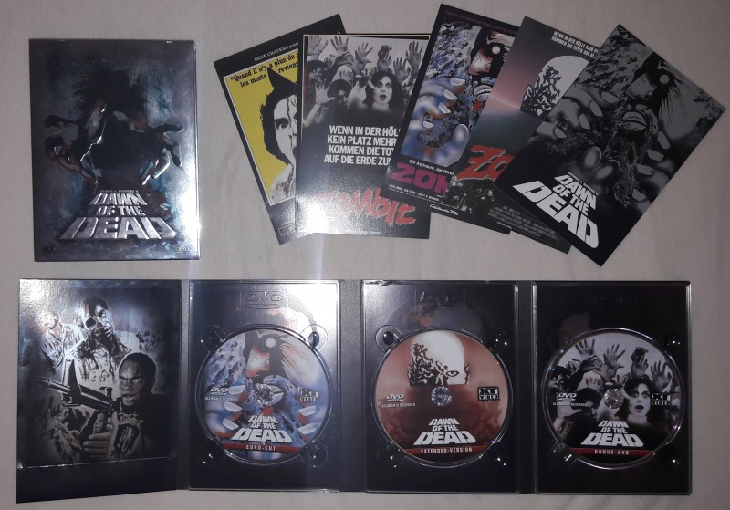 6 DVD's Sammlung (incl. Dawn of the Dead XT 3Disc)