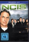 NCIS - NAVY CIS - Season 4.2 3x DVD Box