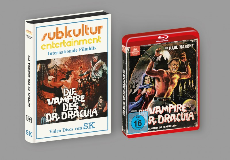 Vampire des Dr. Dracula - gr BD Hartbox ITT Lim 50 Neu