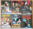 John Woo - Blu Ray - Mediabook Sammlung / Paket