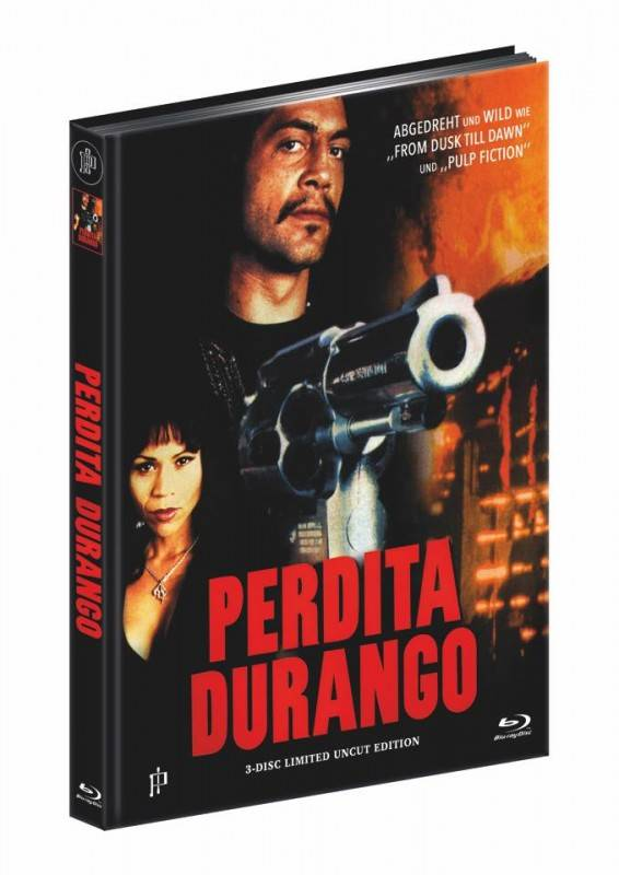 Perdita Durango - 3Disc DVD/BD Mediabook A Lim 500 OVP