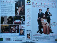 Faithful - Der Hochzeitstag ... Cher, Ryan O´Neal ...  VHS