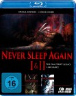 Never Sleep again 1-2 - Blu-ray - uncut - OVP