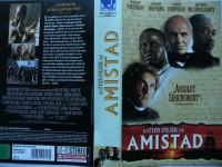 Amistad ... Morgan Freeman, Anthony Hopkins  ...  VHS !!!