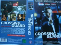 Crossing Guard ... Jack Nicholson, Anjelica Huston ...  VHS