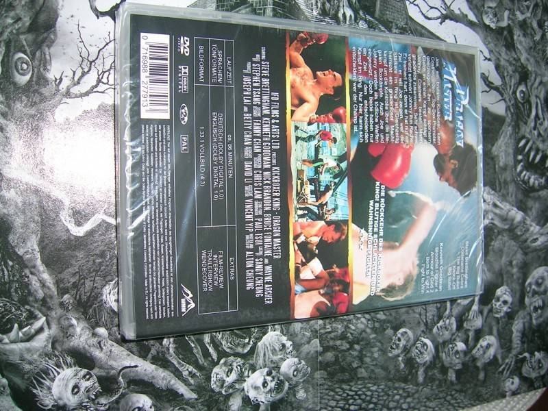 DRAGON MASTER WMM FULL UNCUT DVD NEU OVP