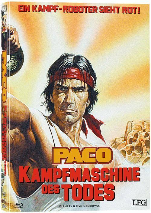 Paco - Kampfmaschine des Todes Mediabook Cover C