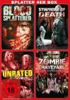 Splatter 4er Box - Horror - 2 DVD Set