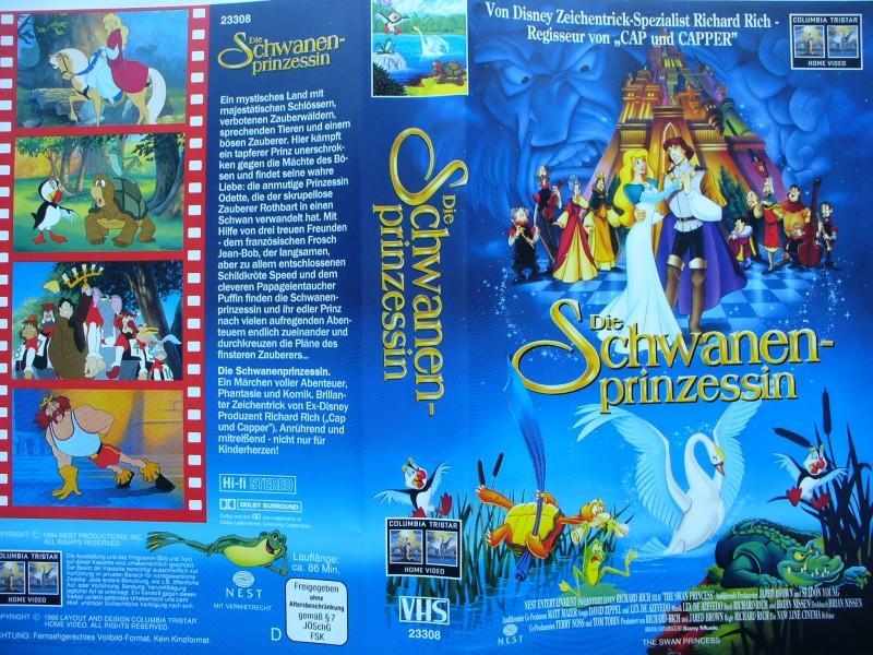 Die Schwanenprinzessin  ...  VHS !!!