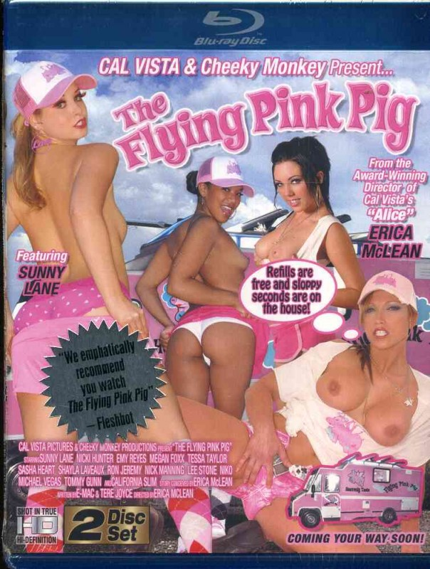 The Flying Pink Pig - OVP - Sunny Lane - Blu Ray