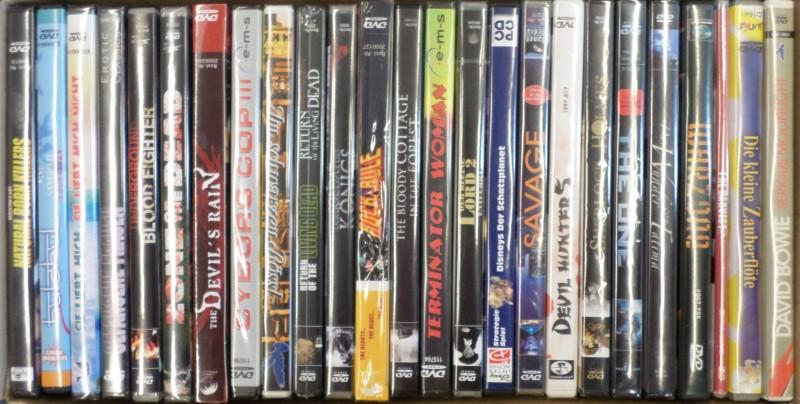 Paket 3 mit 25 DVDs - Mixed - SET 3