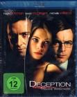 DECEPTION Blu-ray - Hugh Jackman Ewan McGregor -Top Thriller