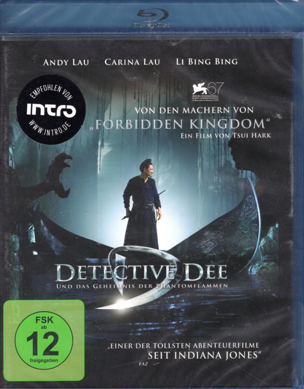 DETECTIVE DEE GEHEIMNIS DER PHANTOMFLAMMEN Blu-ray Asia Hit