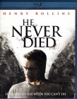 HE NEVER DIED Blu-ray - Henry Rollins kultiger Vampir Horror