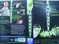 Faculty - Trau keinem Lehrer ... Elijah Wood  ... VHS !!!