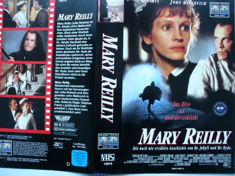 Mary Reilly ... Julia Roberts, John Malkovich ...  VHS !!!