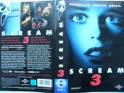 Scream 3 ... Neve Campbell, David Arquette  ...  VHS  !!!