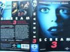 Scream 3 ... Neve Campbell, David Arquette  ...  VHS  !!!