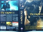 The Crow III ... Kirsten Dunst, Fred Ward  ... VHS !!!