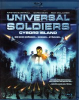 UNIVERSAL SOLDIERS Cyborg Islands - Blu-ray SciFi Action