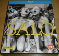 Salo Or The 120 Days Of Sodom Uncut UK Blu-ray