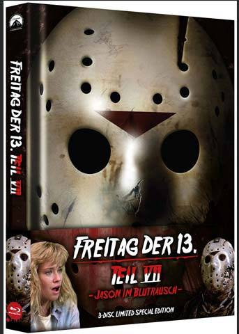 FREITAG DER 13. - Teil 07 - JASON IM BLUTRAUSCH Mediabook