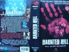 Haunted Hill ... Geoffrey Rush, Famke Janssen ...  VHS  !!!